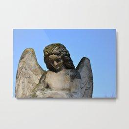 Weathered Angel Metal Print