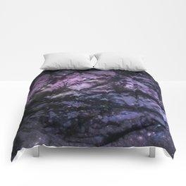 Night Sky (Monoprint) Comforters