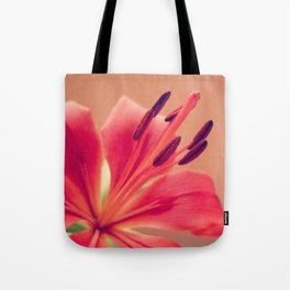 Pink Lily. Tote Bag