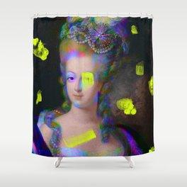Iridescent Queen Shower Curtain