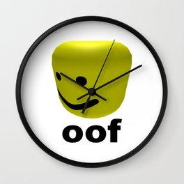 Roblox Oof - Roblox Wall Clock