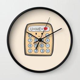 The Equation Wall Clock