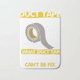 Duct Tape Technician Bath Mat