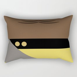 Worf - Minimalist Star Trek TNG The Next Generation - Enterprise 1701 D - startrek - Trektangles Rectangular Pillow