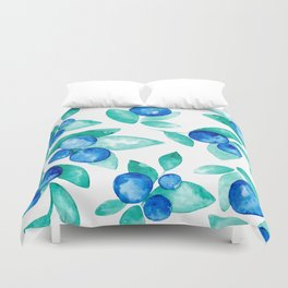 Blueberry Duvet Cover