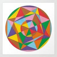 Arcobaleno Art Print