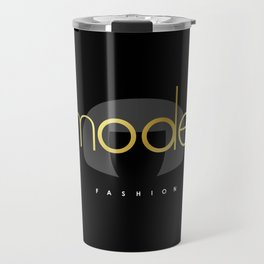 Edna Mode Fashion Dark Gold Travel Mug