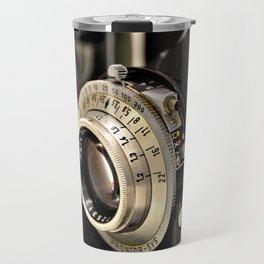 Old camera Travel Mug