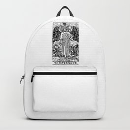 Temperance - A Floral Print Backpack