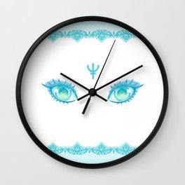 Sailor Neptune Eyes Wall Clock
