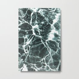Summer Pool Metal Print