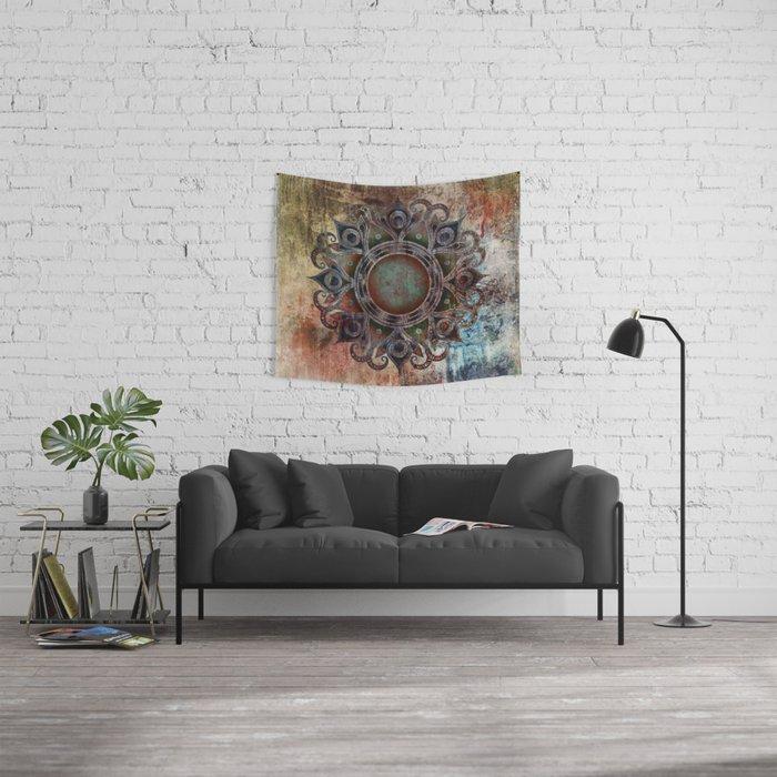 Mandala - Zombie Wall Tapestry