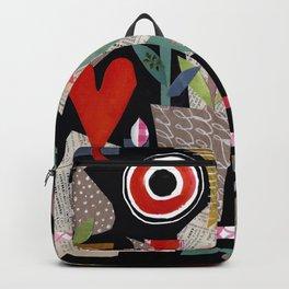 'night garden ...' Backpack