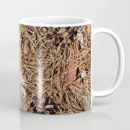The texture of the ground Coffee Mug