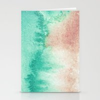 mineral Stationery Cards featuring mineral 02 by LEEMO