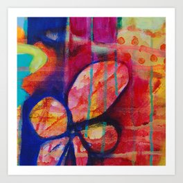BLUSTER Art Print