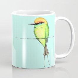 Green bee eater Coffee Mug