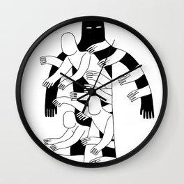 The Hole Wall Clock