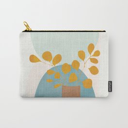 Soft Abstract Shapes 03 Carry-All Pouch