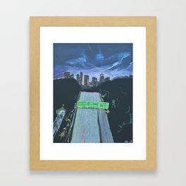 110 Framed Art Print