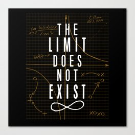 The Limit Does Not Exist Canvas Print