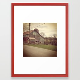 Miles Away 1 Framed Art Print