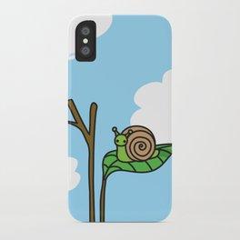 Sweet Snail iPhone Case