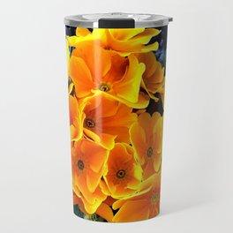 Flower at night Travel Mug