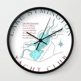 Symington Yacht Club Wall Clock