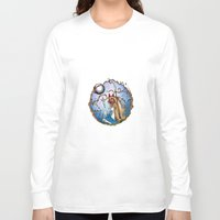 princess mononoke Long Sleeve T-shirts featuring Princess Mononoke by Jena Sinclair
