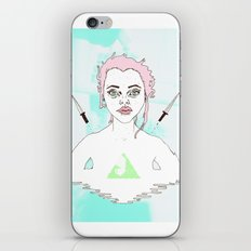 Acid Girl iPhone & iPod Skin