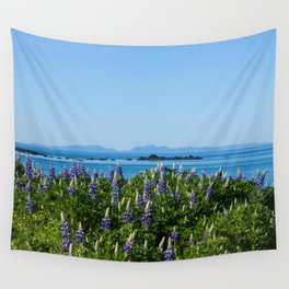 Scenic Alaskan Photography Print Wall Tapestry
