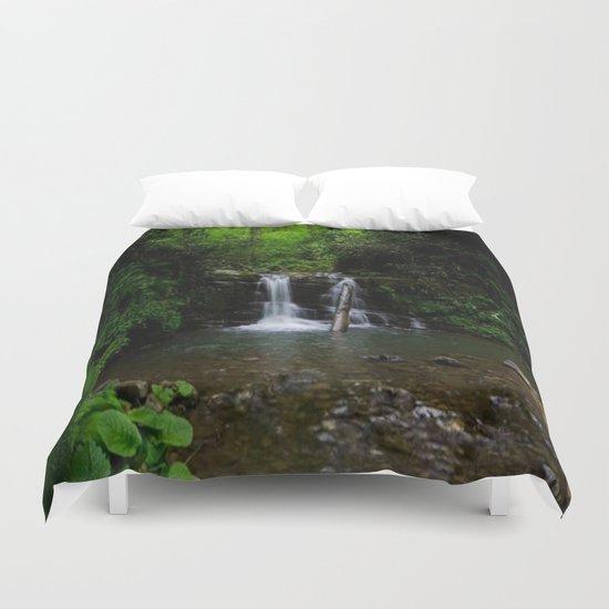 naturel forest lake Duvet Cover