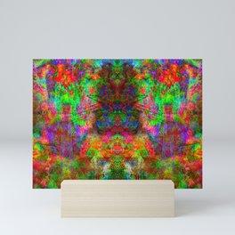 Kamana (abstract, psychedelic, visionary) Mini Art Print