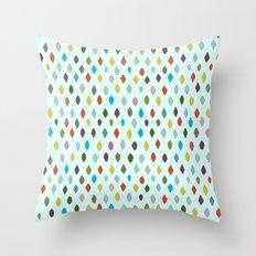 PIPS baby aqua Throw Pillow