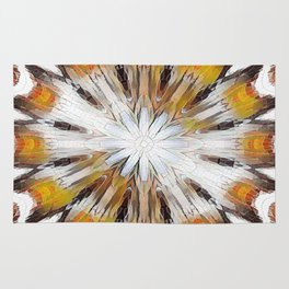 Sunburst Abstract Rug