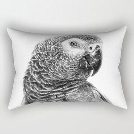 Gray Parot G083 Rectangular Pillow