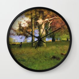 Early Autumn, Montclair - Digital Remastered Edition Wall Clock