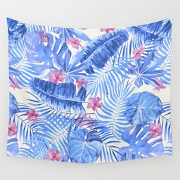Palm Leaves Pattern 11 Wall Tapestry