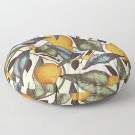 Lemons, Oranges & Pears Floor Pillow