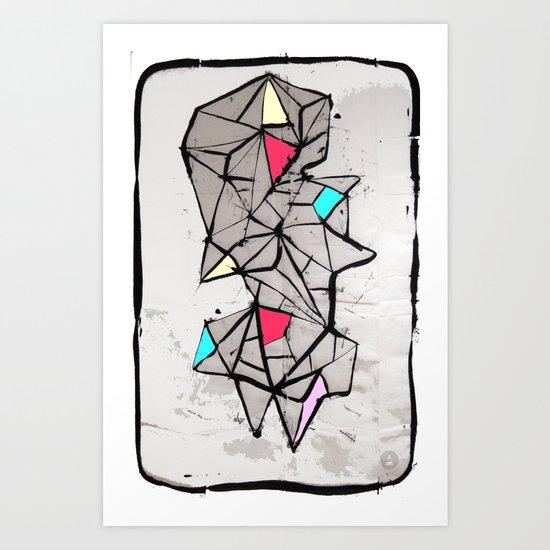 Diamante Art Print
