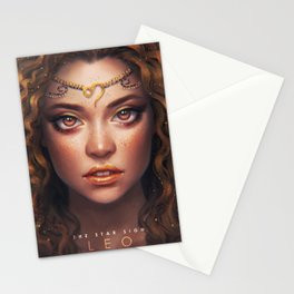 Leo - The Star Sign Stationery Cards