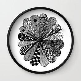 Mandala Wheel Wall Clock