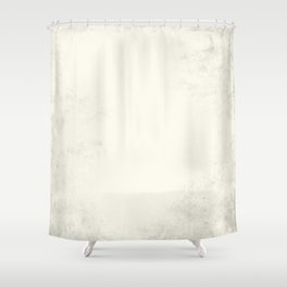 Tribal Ivory Cream Shower Curtain