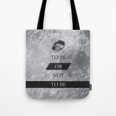 To Be or Not To BE Shakespeare Quotes Tote Bag