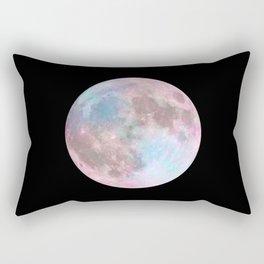 Iridescent Dark Moon Rectangular Pillow