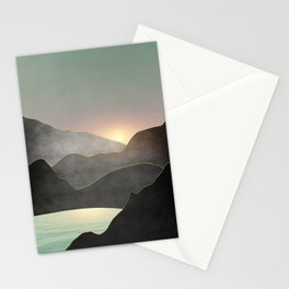 Minimal Landscape 03 Stationery Cards