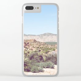 Joshua Tree, No. 2 Clear iPhone Case