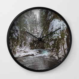 A Quiet Place - Pacific Northwest Nature Photography Wall Clock