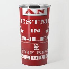 Benjamin Franklin Inspirational Investment Quote Travel Mug
